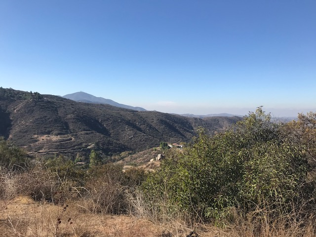 5 Acres with Amazing Views – Above Steele Canyon Golf Course